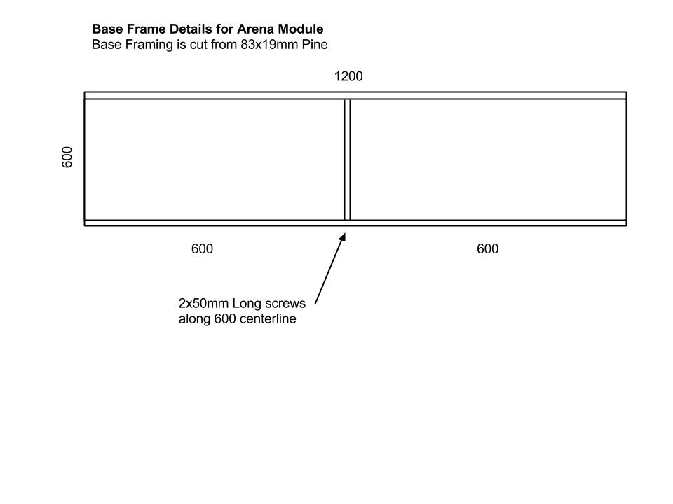 Base Frame Details for Arena