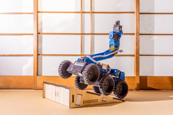 The Excessively Complex Six-Wheeled Robot